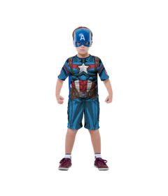 Fantasia-Classica-Curta---Capitao-America---Avengers---Marvel---Rubies---M