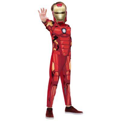 Fantasia-Classica-Longa--Homem-de-Ferro---Avengers---Marvel---Rubies---G