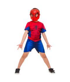 Fantasia-Curta-com-Peitoral---Homem-Aranha---Marvel---Rubies---M