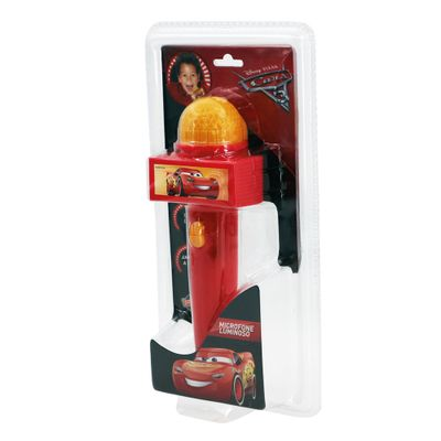Microfone-com-Luz---Vermelho---Disney-Cars---Toyng