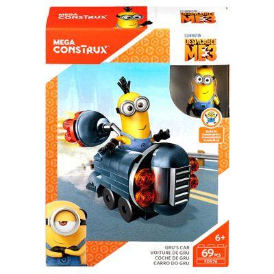 Blocos de Montar - Mega Construx - Meu Malvado Favorito 3 - Minions - Carro do Gru - Mattel