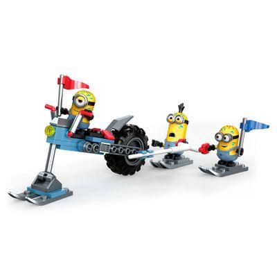 Blocos de Montar - Mega Construx - Meu Malvado Favorito 3 - Minions -Moto Aquática Louca - Mattel