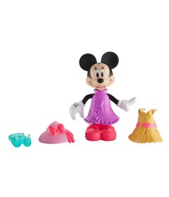 Mini-Figura---Disney---Minnie-Mouse-Fashion---Safari-Style---Fisher-Price