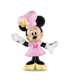 Mini-Figuras---Disney---Mickey-Mouse-Clubhouse---Minnie-Mouse-Cozinheira---Fisher-Price
