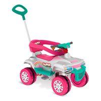 Mini-Veiculo-de-Passeio---Superquad-com-Pedal---Rosa---Bandeirante