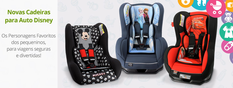 Cadeiras para Auto Disney