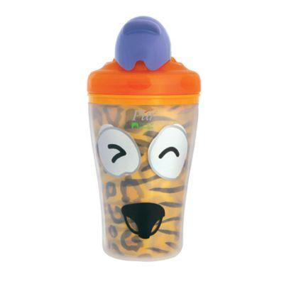 Copo-Termico-com-Canudo-Retratil---Safari---Tigrinho---KaBaby
