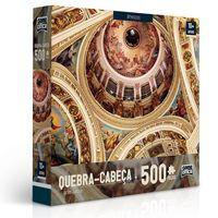 Quebra-Cabeca---500-Pecas---Arte-Sacra---Afresco---Toyster