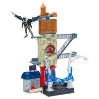 Playset---60-cm---Spider-Man-Homecoming---Vulture-Attack---Marvel---Hasbro