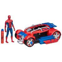 Veiculo-com-Figura---30-cm---Spider-Man-Homecoming---Spider-Racer---Marvel---Hasbro