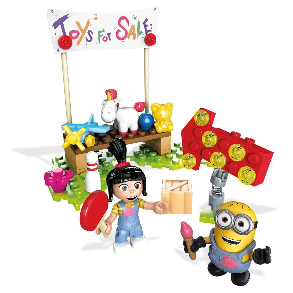 Blocos de Montar - Mega Construx - Meu Malvado Favorito 3 - Minions - Venda de Garagem - Mattel