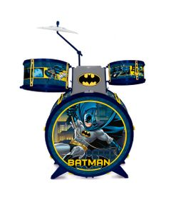 Bateria-Infantil---DC-Comics---Batman---Fun