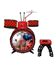 Bateria-Infantil---Miraculous---Ladybug---Fun