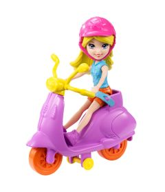 Motocicleta-Scooter-da-Polly-Pocket---Polly-com-Scooter-Lilas---Mattel