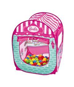 Barraca-Infantil-com-50-Bolinhas---Barbie---Doceria-Fabulosa---Fun