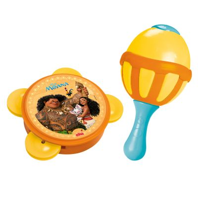 Conjunto de Maracas e Pandeiro - Disney - Moana - Elka