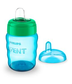 Copo-de-Treinamento---260-Ml---Easy---Verde---Philips-Avent