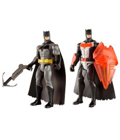 Kit-de-Figuras-Articuladas---16-Cm---DC-Comics---Batman-Vs-Superman---Batman-com-Escudo-de-Calor-e-Arpel---Mattel