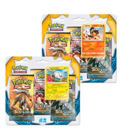 Kit-Cards-Pokemon---Triple-Deck---Sol-e-Lua---Litten-e-Togedemaru---Copag