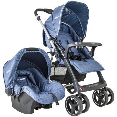Travel-System-Nest---Melange---Azul---Kiddo