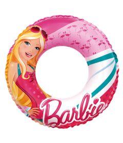 Acessorios-de-Praia-e-Piscina---Boia-Redonda-Pequena---50-Cm---Barbie-Glamurosa---Fun