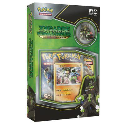 Deck Pokémon - Box - Pokémon Sol e Lua - Zygarde Forma Completa - Copag