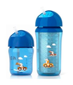 Kit-de-Copos---260Ml---Azul---Philips-Avent