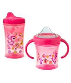Kit-de-Copos-Antivazamento---My-First-Girl---200Ml-e-295Ml---6-a-12-M---NUK