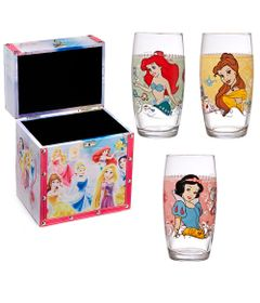 Kit-Disney---Porta-Joias-das-Princesas-e-Conjunto-de-Copos-Decorados---430Ml