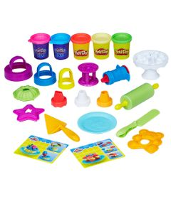 Massa-de-Modelar---Play-Doh---Kitchen-Creations---Bolos-Divertidos---Hasbro
