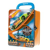 Maleta-Metalica---Hot-Wheels---Box-para-18-Carrinhos---Laranja---Fun