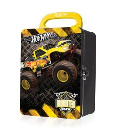 Maleta-Metalica---Hot-Wheels---Box-para-18-Carrinhos---Preta---Fun