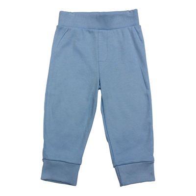 Calca-Azul-Claro-Lisa-com-Cos-e-Punho---Koala-Baby---Babies-R-Us