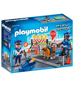 Playmobil---City-Action---Playset-e-Mini-Figuras---Bloqueio-Policial---6878---Sunny