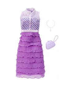 Roupinha-para-Boneca-Barbie---Look-Completo---Vestido-Lilas---Mattel