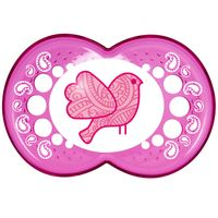 Chupeta-Clear-Silk-Touch-Girls---Fase-2---Pink---MAM