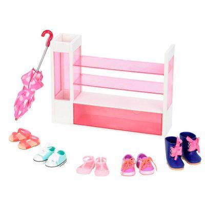 Oferta Acessórios para Bonecas - Our Generation - Estante para Sapatos por R$ 499.99