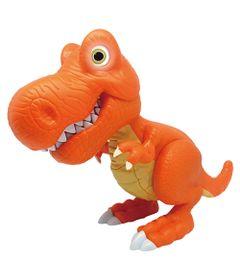 Dino-com-Luz-e-Som---Junior-Megasaur---T-Rex---Laranja---Fun