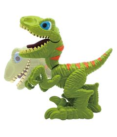Mini-Dino-Comilao---Junior-Megasaur---Veloceraptor---Fun