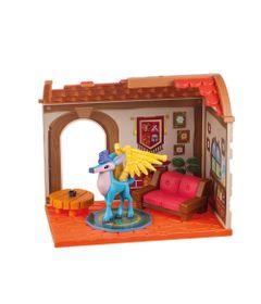 Playset-Medio---Animal-Jam---Small-House-Den-Den---Fun