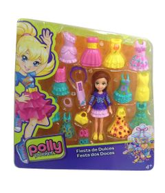 Boneca-Polly-Pocket-com-Roupinhas---Festa-dos-Doces---Mattel