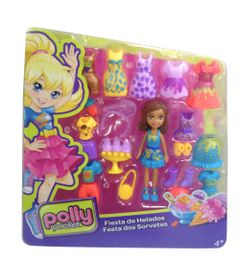 Boneca-Polly-Pocket-com-Roupinhas---Festa-dos-Sorvetes---Mattel