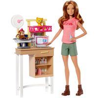 Playset-e-Boneca-Barbie---Profissoes---Barbie-Veterinaria---Mattel