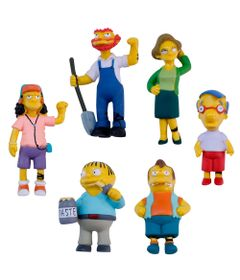 Kit-de-Mini-Figuras---Os-Simpsons---Personagens-5-Cm---Multikids_Frente
