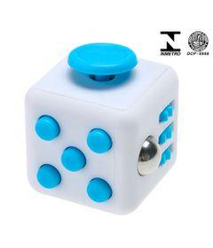 Cubo-Anti-Stress-Certificado---Fidget-Cube---Certificado---Azul-e-Branco---Candide