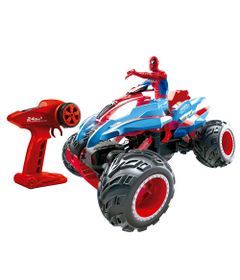 Veiculo-de-Controle-Remoto-e-Figura---Disney---Marvel---Spider-Man---Action-Crawler---Candide