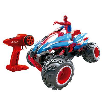 veiculo-de-controle-remoto-e-figura-disney-marvel-spider-man-action-crawler-candide