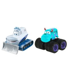 Veiculos-Hot-Wheels---Disney-Cars-2---Pack-com-2-Veiculos---Sulley-e-Yeti---Mattel