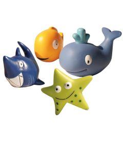 Kit-Amiguinhos-do-Banho-com-6---Animais-do-Mar---Soft-Baby---Yes-Toys