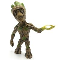 Figura-Colecionavel-15-cm---Metals-Die-Cast---Marvel---Guardioes-da-Galaxia---Groot---DTC